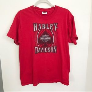 HARLEY DAVIDSON II Red t-shirt